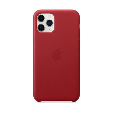 Comprar funda roja cuero iphone 11 pro