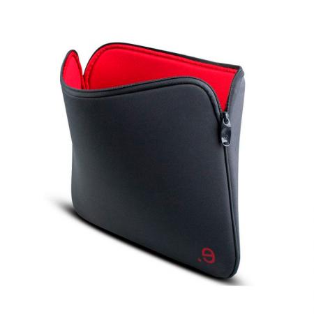 """Funda de neopreno para MacBook Pro 13"""" y Macbook Air 13"""" gris y roja Beez"""