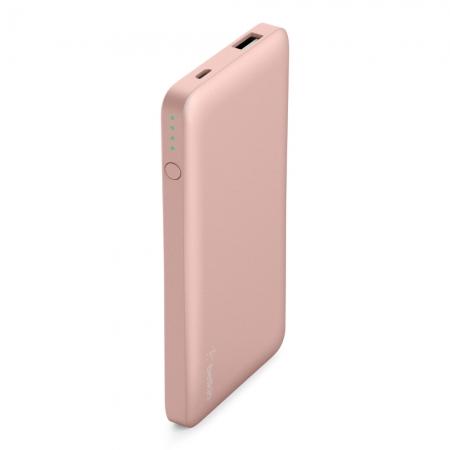 cargador portatil bateria externa para iphone rosa