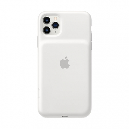 Smart Battery Case Blanca para iPhone 11 Pro Max