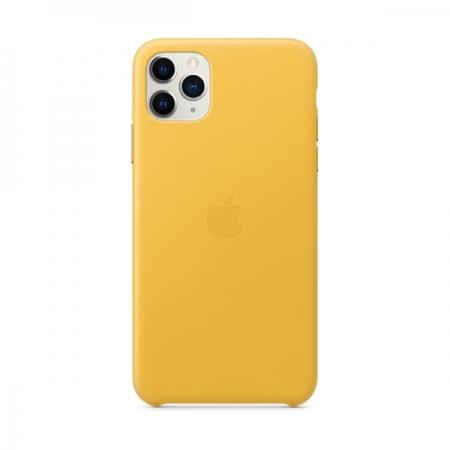 Funda cuero amarillo iphone 11 pro max