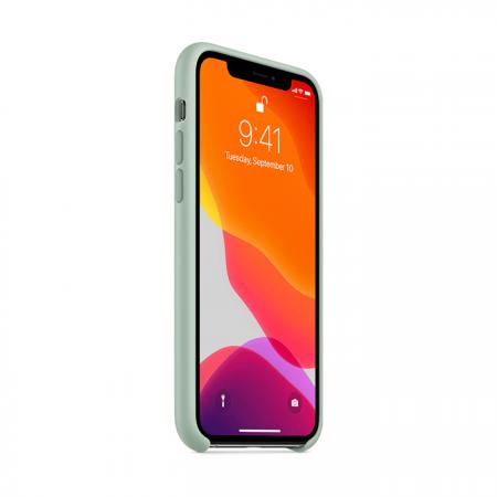 Funda de silicona apple verde beril para iphone 11 pro