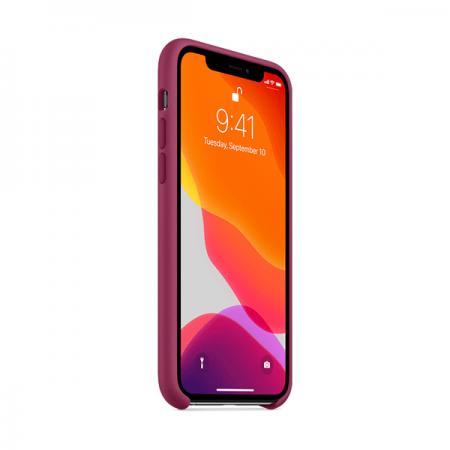 Funda de silicona apple granate para iphone 11 pro