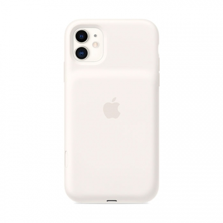Smart Battery case blanca para iPhone 11