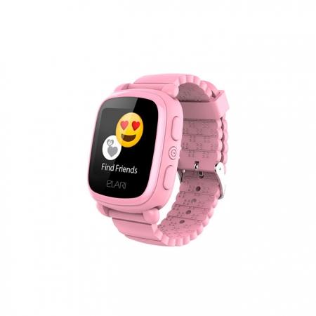 Reloj inteligente con localizador GPS KidPhone 2 de Elari color rosa