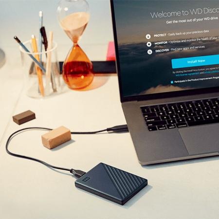 Disco duro portátil para Mac de Western Digital