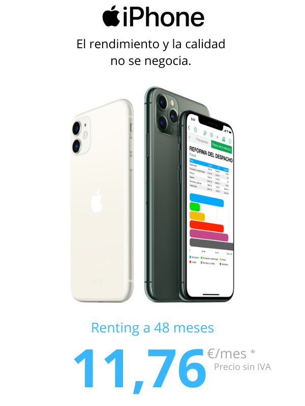 iPhone para empresas