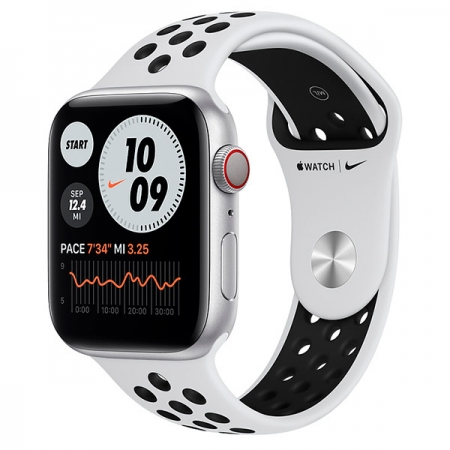 Apple Watch Nike Series 6 44mm GPS+Celular Plata