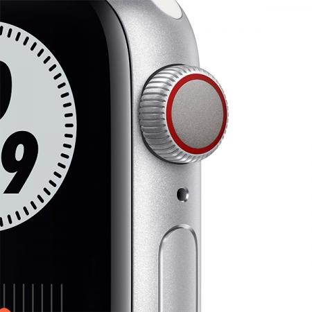 nuevo apple watch series 6 nike con correa agujeros blanca