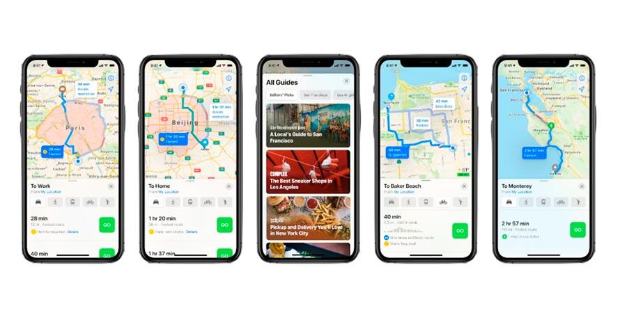 App mapas iOS14