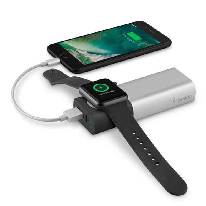 Cargador portátil Belkin para Watch y iPhone