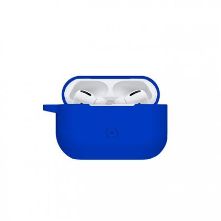 Funda de silicona Azul para AirPods Pro