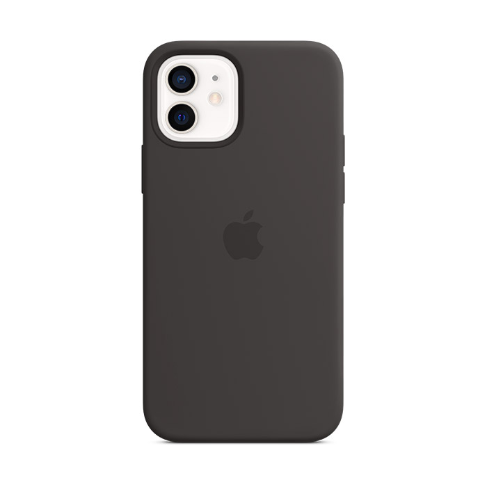 Funda Apple MagSafe Silicona Negro para iPhone 12