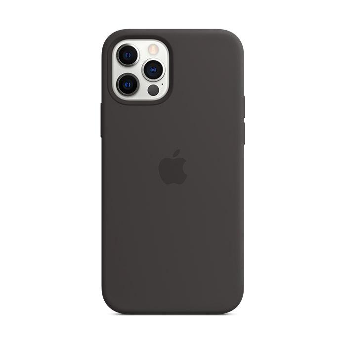 Funda Apple MagSafe Silicona Negro para iPhone 12 Pro