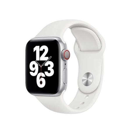 Correa para Apple Watch 38/40mm deportiva blanca de Apple