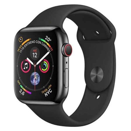 comprar Apple Watch series 4 acero inoxidable negro