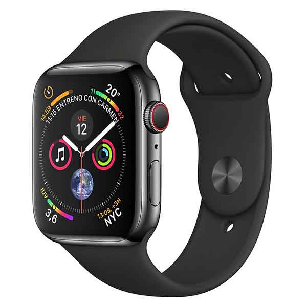 comprar Apple Watch series 4 acero inoxidable negro