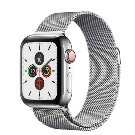 comprar Apple Watch series 5 40 mm acero inoxidable plata