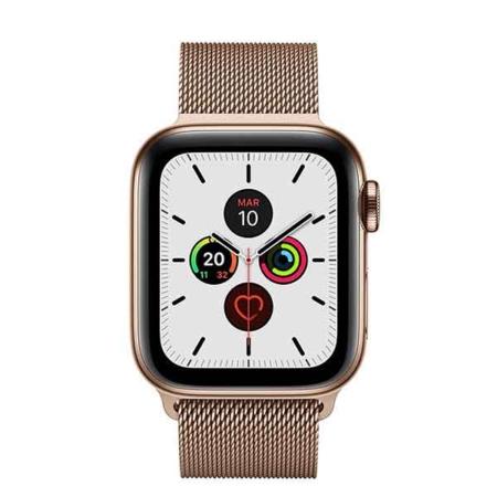 Apple Watch series 5 acero inoxidable dorado