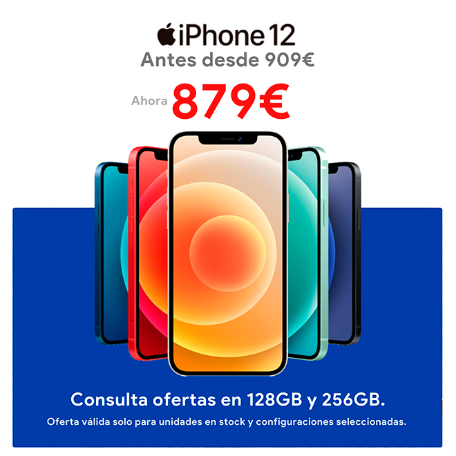 Oferta iPhone 12