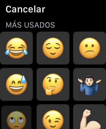 Emojis Apple Watch