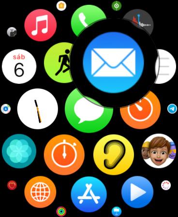 Envíar un email con el Apple Watch