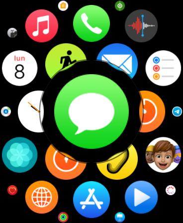 mensajes apple watch