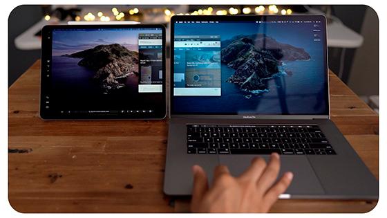 Cómo utilizar el iPad como una pantalla para el mac