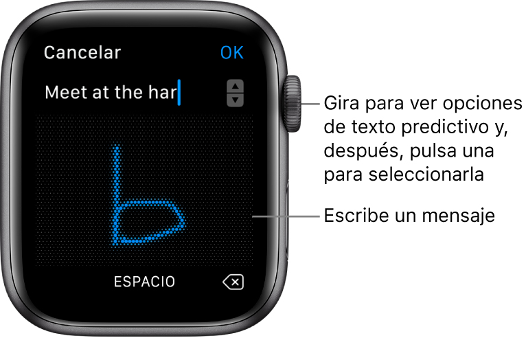 Responder mensajes Apple Watch