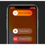datos de emergencia iPhone