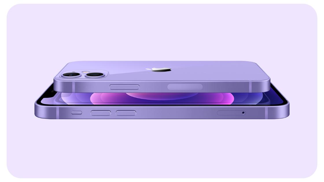 iPhone 12 Morado