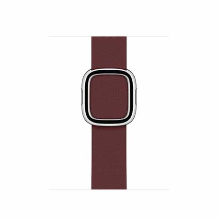comprar correa moderna con hebilla granate para Apple Watch 40mm
