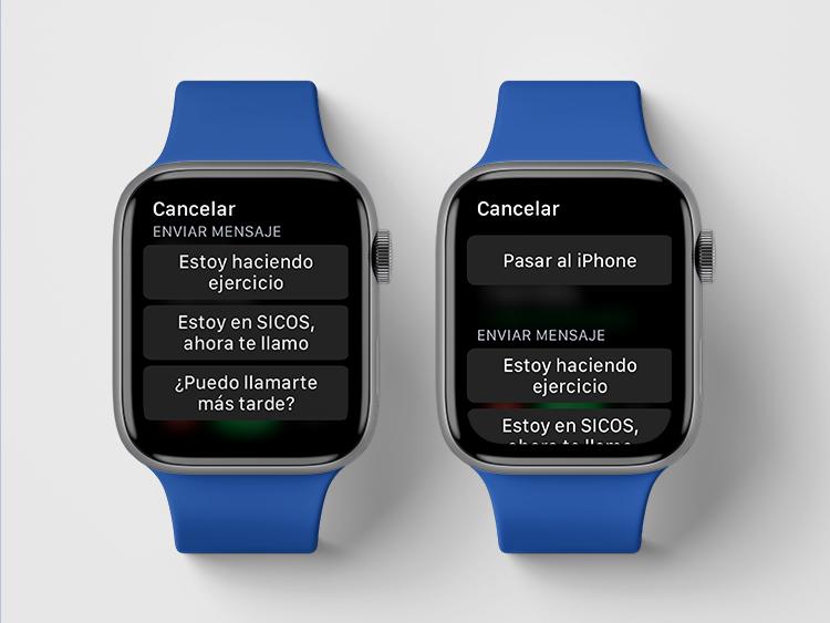 Llamadas Apple Watch