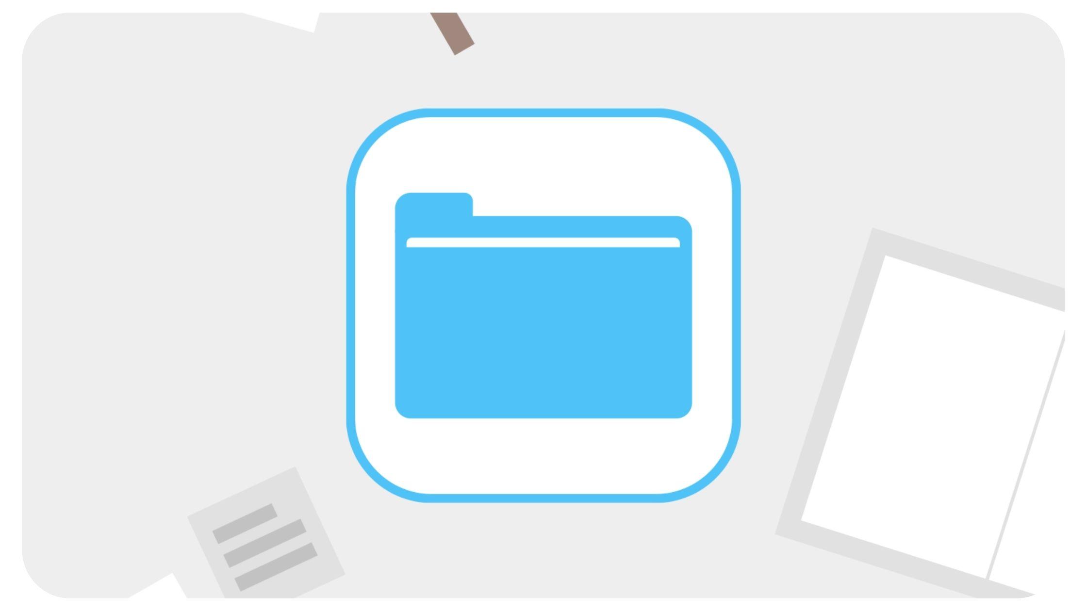 Aplicación archivos icloud