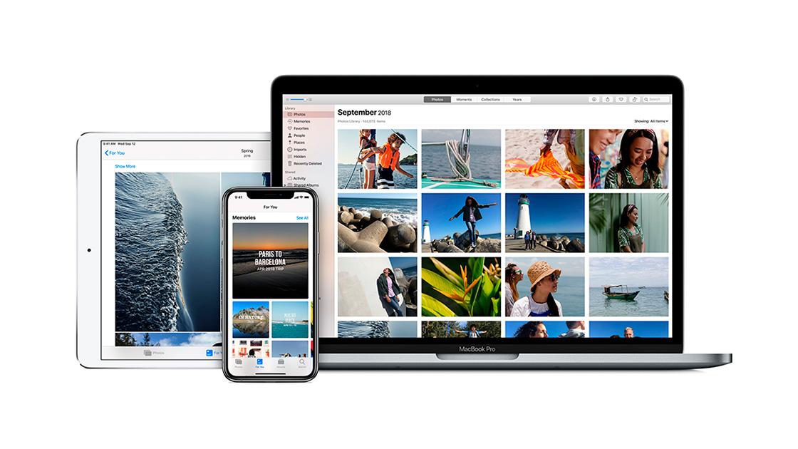 Sicronizar fotos iPhone y Mac