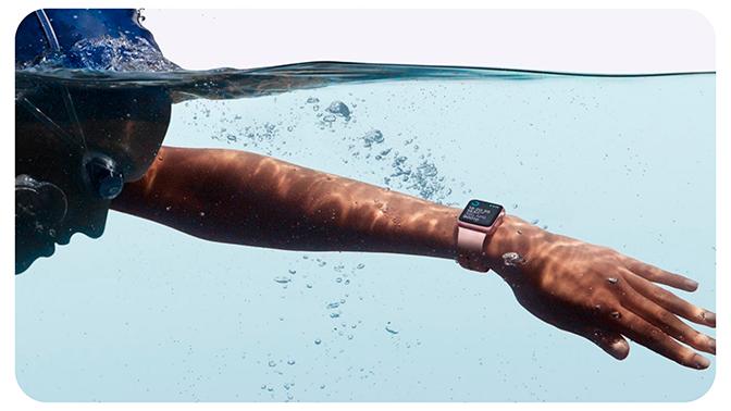 Qué modelos de Apple Watch se pueden mojar