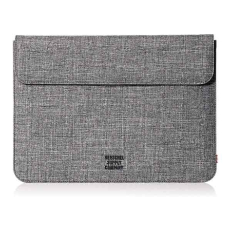 """Funda Herschel Spokane para MacBook Air Pro 13"""" Raven Crosshatch"""
