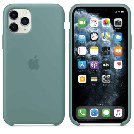 Funda de silicona iPhone 11 Pro Cactus