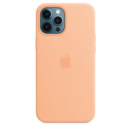 Funda de silicona iPhone 12 Pro Max Cantalupo