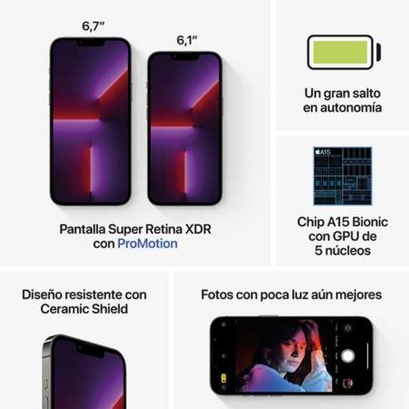 iPhone 13 Pro Grafito