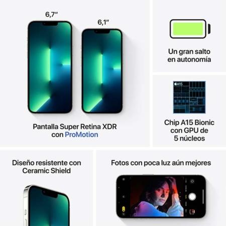 Características iPhone 13 Pro Max Silver
