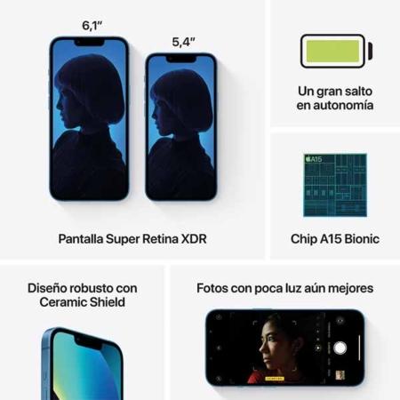 iPhone 13 mini Azul