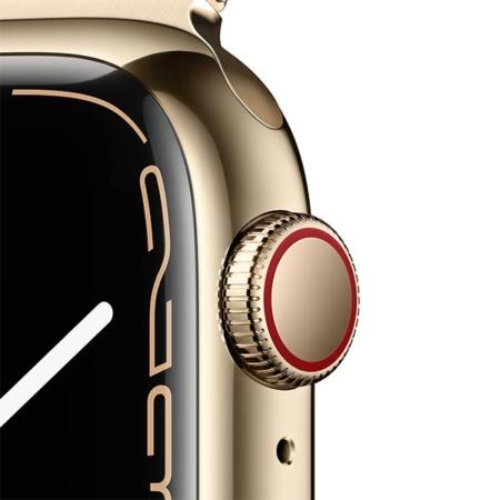 Apple Watch Series 7 Acero Dorado