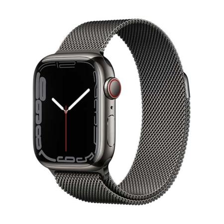 Apple Watch Series 7 Acero Grafito Correa Milanese Grafito