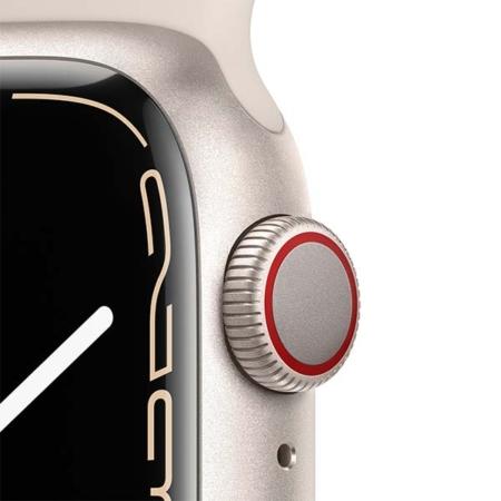 Apple Watch Series 7 Aluminio Cell Blanco estrella