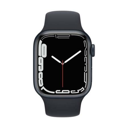 Apple Watch Series 7 Aluminio medianoche con correa deportiva medianoche