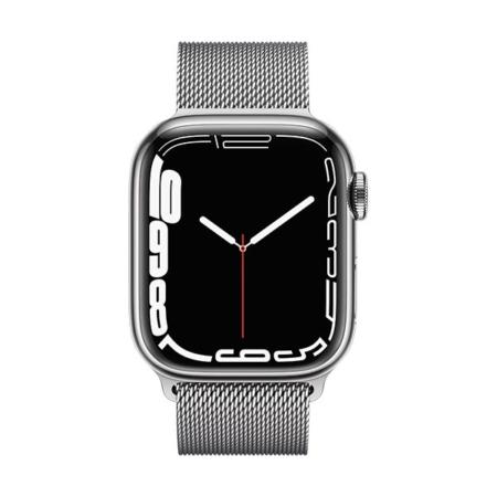 Apple Watch Series 7 Acero Plata Milanese Plata