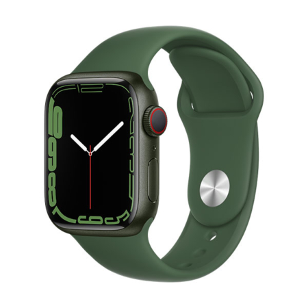 Apple Watch Series 7 aluminio cell verde con correa deportiva verde